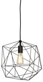 It's About RoMi :: Lampa wisząca Copenhagen czarna - żelazny stelaż
