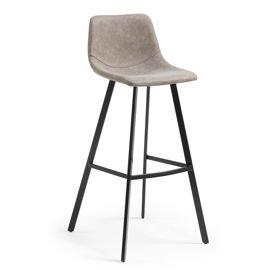 LaForma :: Hoker / krzesło barowe ANDI szary