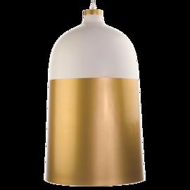 Lampa wisząca DELHI Biało-złota